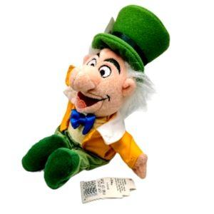 Disney Bean Bag Plush Mad Hatter Alice in Wonderla